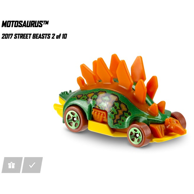 Xe Hot Wheels Street Beasts 2/10 ( Hot wheel - Hotwheel - Hotwheels )