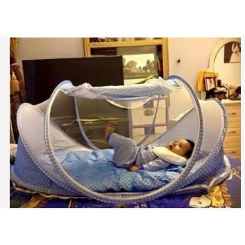 Màn có nhạc cho bé Happy Baby chống muỗi cự