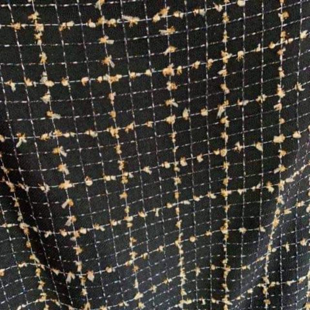 Vải dạ tweed kim tuyến