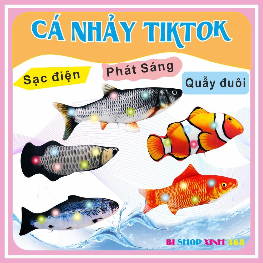 Cá Nhảy Sạc Điện Đồ chơi Cho Bé Hot TikTok