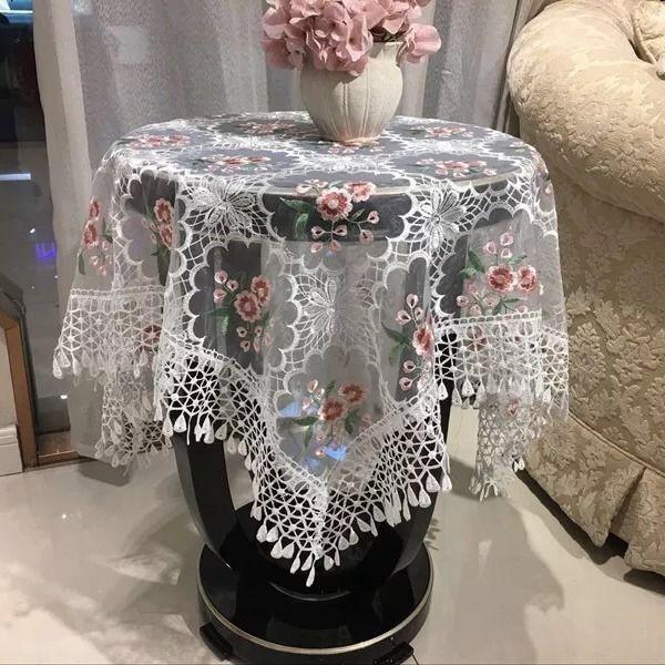 Tấm Vải Ren Lưới Trong Suốt Bọc Máy Giặt Tiện Dụng
