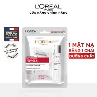 Mặt nạ dưỡng chất pha lê Revitalift Crystal Micro-Essence Treatment Mask L Oreal Paris 25g thumbnail