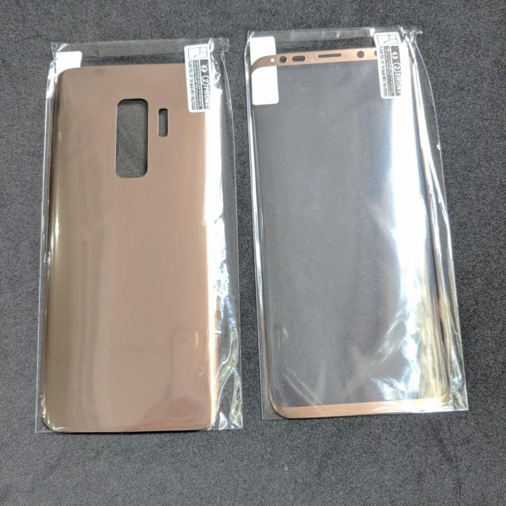 Dán Full màn hình Samsung S9 Plus và mặt sau Vmax