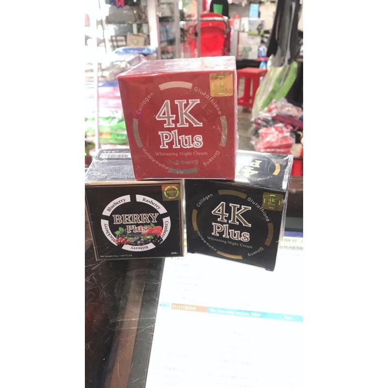 Kem 4K plus Thái Lan 20g 4k Plus berry