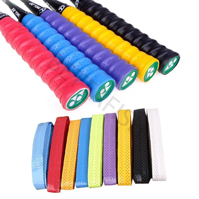 Tennis Badminton Squash Racquet Overgrips Wrap Handle Tape Anti-Slip Sweatband