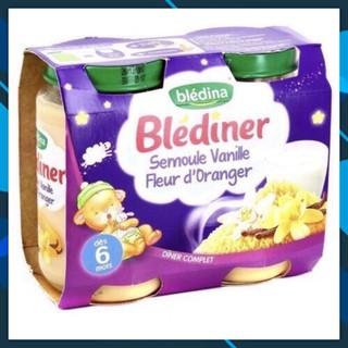 {FREESHIP}-[AUTH] [2022] Hũ ăn dặm Bledina vị vani, lúa mach & hoa cam cho bé từ 6 tháng trở lên Hàng chất lượng cao
