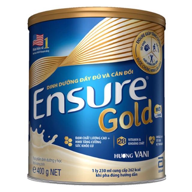 Sữa Ensure Gold 400g( Mẫu Mới) Date 2020 - 2873312 , 506319587 , 322_506319587 , 400000 , Sua-Ensure-Gold-400g-Mau-Moi-Date-2020-322_506319587 , shopee.vn , Sữa Ensure Gold 400g( Mẫu Mới) Date 2020
