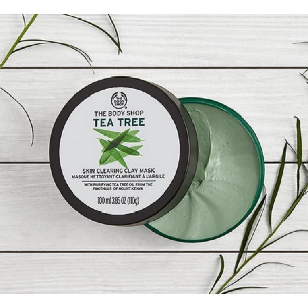 Mặt nạ The Body Shop TEA TREE SKIN CLEARING CLAY MASK 100ml