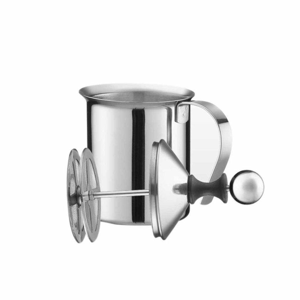 Houseware CoffeeIndy ที่ทำโฟมนมเย็น ขนาด 400 ml (สีเงิน)ouseware CoffeeIndy ที่ทำโฟมนมเย็น ขนาด 400 ml (สีเงิน)