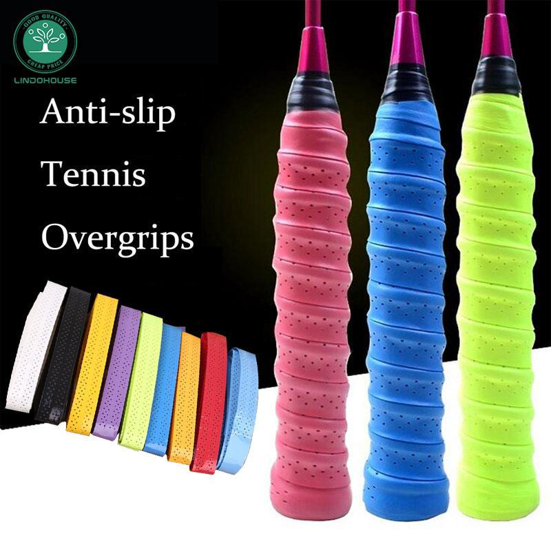 Tennis Badminton Squash Racquet Overgrips Wrap Handle Tape Anti-Slip Sweatband
