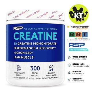 Tăng sức mạnh, thúc đẩy cơ bắp Creatine của RSP 60 Liều dùng