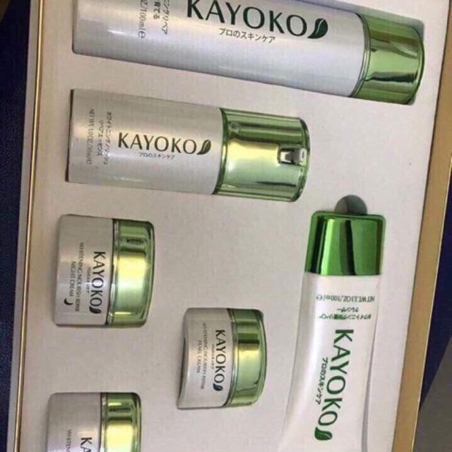 Bộ mỹ phẩm KAYOKO 6in1 trị nám, tàn nhang và dưỡng trắng da - 3467761 , 715231650 , 322_715231650 , 1420000 , Bo-my-pham-KAYOKO-6in1-tri-nam-tan-nhang-va-duong-trang-da-322_715231650 , shopee.vn , Bộ mỹ phẩm KAYOKO 6in1 trị nám, tàn nhang và dưỡng trắng da