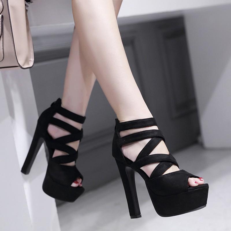 giày cao gót đế vuông thời trang dành cho nữ - 22044907 , 2653289787 , 322_2653289787 , 587400 , giay-cao-got-de-vuong-thoi-trang-danh-cho-nu-322_2653289787 , shopee.vn , giày cao gót đế vuông thời trang dành cho nữ