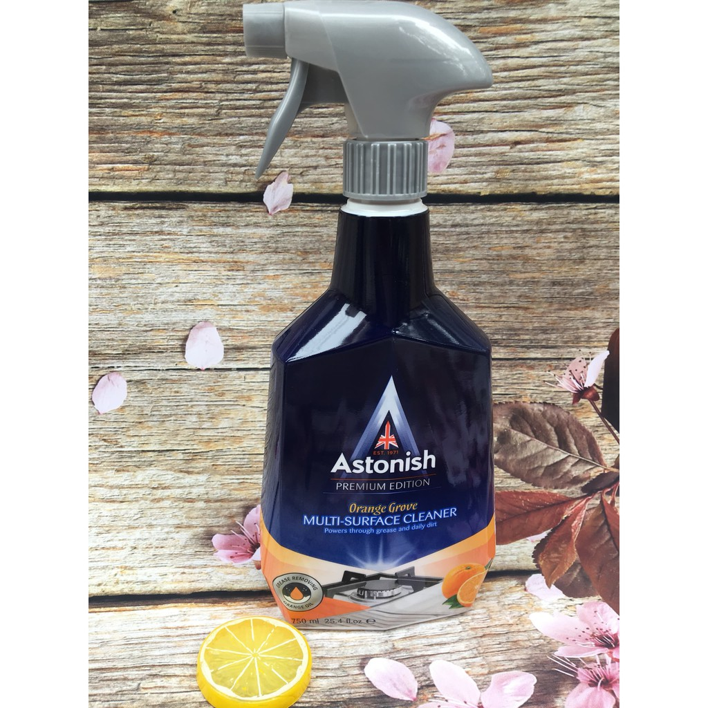 Bình xịt vệ sinh bếp Astonish hương cam C6790_750ml