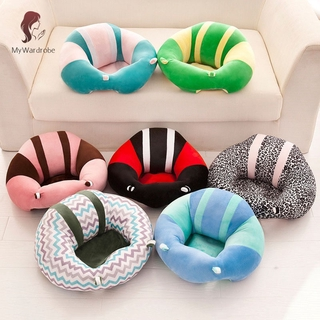 ETXK Baby Support Seat Plush Soft Baby Sofa Infant Learning To Sit Chair Comfortable