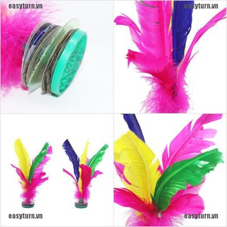 EASY en US 0 Colorful Feather Chinese Jianzi Hacky Sack Foot Sports Game Kicking Shuttlecock