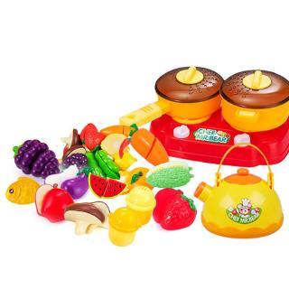Đồ ăn đồ chơi HDY giả cắt được đa dạng cho bé
