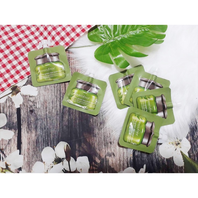 ?Kem Dưỡng Sample Innisfree The Green Tea Seed Cream ? - 3298595 , 458940782 , 322_458940782 , 35000 , Kem-Duong-Sample-Innisfree-The-Green-Tea-Seed-Cream--322_458940782 , shopee.vn , ?Kem Dưỡng Sample Innisfree The Green Tea Seed Cream ?