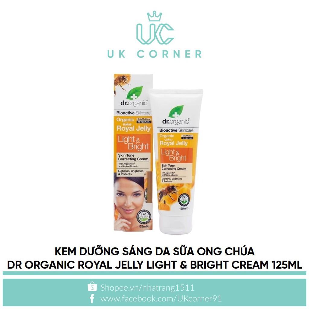 [VỎ GIẤY BẸP NHẸ] Kem dưỡng sáng da sữa ong chúa Dr Organic Royal Jelly Light & Bright Cream 125ml - 2394826 , 832583813 , 322_832583813 , 450000 , VO-GIAY-BEP-NHE-Kem-duong-sang-da-sua-ong-chua-Dr-Organic-Royal-Jelly-Light-Bright-Cream-125ml-322_832583813 , shopee.vn , [VỎ GIẤY BẸP NHẸ] Kem dưỡng sáng da sữa ong chúa Dr Organic Royal Jelly Light &