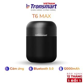 Loa Bluetooth 5.0 Tronsmart Element T6 Max - Công suất 60W Hỗ trợ TWS và NFC ghép đôi 2 loa - Hàng chính hãng - 1 đổi 1