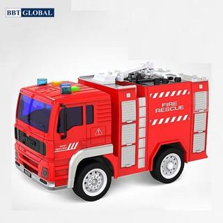Mô hình đồ chơi xe cứu hỏa có đèn và nhạc mẫu mới WY550