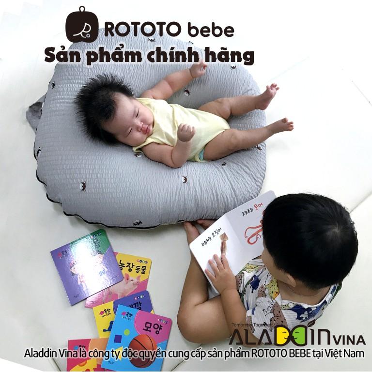Gối chống trào ngược Rototo Bebe cao cấp nhập khẩu chính hãng Hàn Quốc