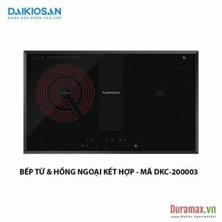 Bếp kết hợp từ và hồng ngoại Daikiosan DKC-200003 - 2 vùng nấu lắp âm