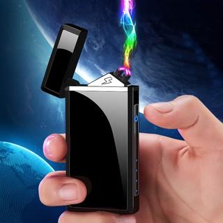 Bật lửa điện tử sạc pin công nghệ plasma 4 tia nhỏ gọn tiện ích