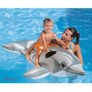 Phao Bơi Cao Cấp Cá Heo INTEX 58535
