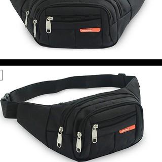 Túi nam đẹp🎁FREESHIP🎁nhập mã [TUINAM] giảm 30k Túi đeo hông sport đen