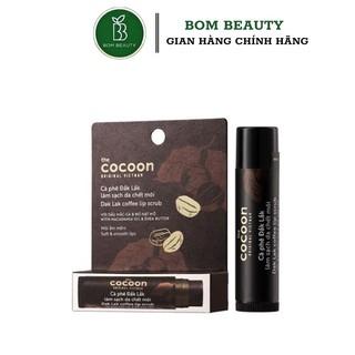 Tẩy Tế Bào Chết Môi Cocoon Từ Cà Phê Đắk-Lắk Dak Lak Coffee Lip Scrub 5g