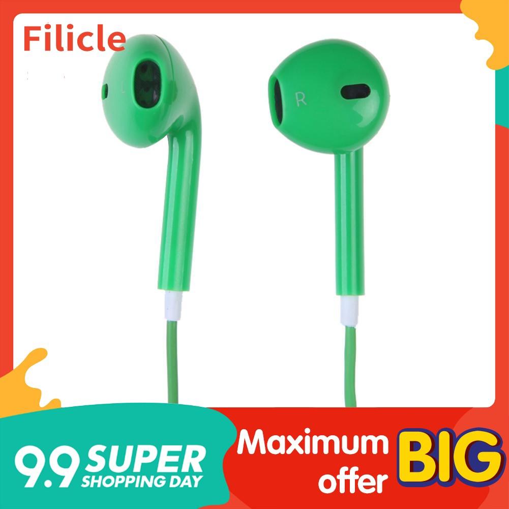 The Best🏆Genuine Earphones Earpods Handsfree With Mic for Apple iPhone 6 6S Filicle