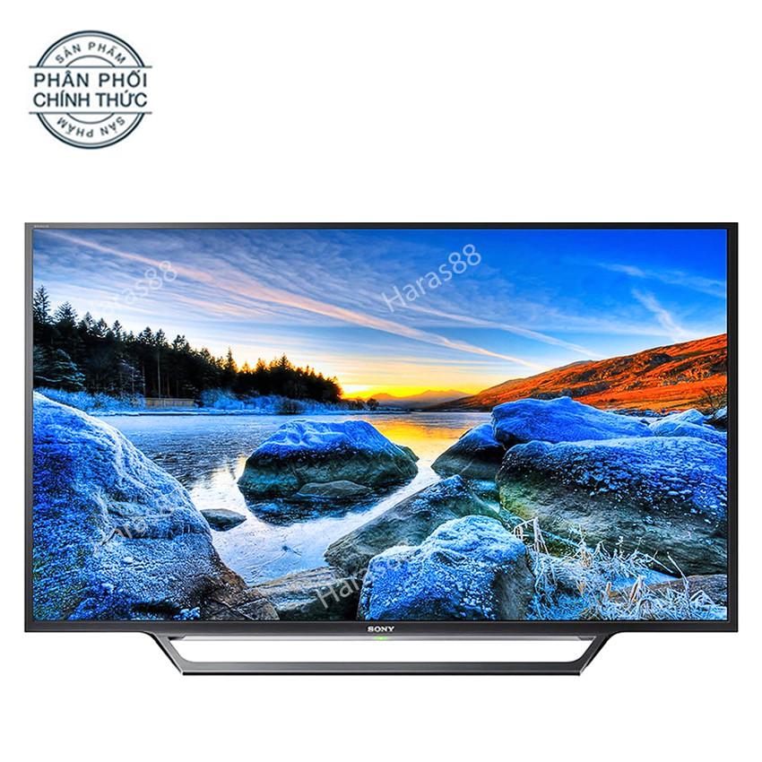 Internet Tivi Sony 32 inch HD - Model 32W600D (Đen) Tích hợp đầu thu DVB-T2, Wifi
