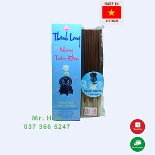 Nhang Trầm Đen Thiên Nhiên Việt Nam Hiệu Thanh Long