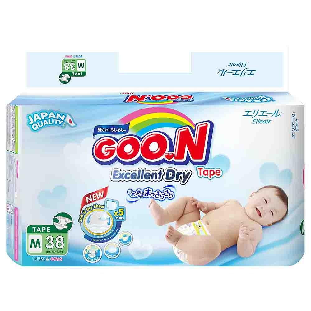 Tã quần/giấy Goon Slim Jumbo NB48/S44/M38/L32/XL30/M32/L26/XL22/XXL20/XXXL15