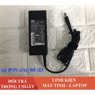 [KHÔ MÁU] – Sạc Laptop HP 19V – 4.74A (90W) Chân kim to dành cho HP 8460 8470 8560P 8570P