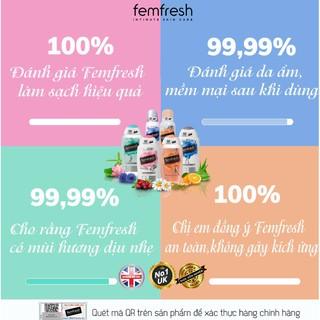 [Tặng Kèm Deal 0đ] Dung dịch vệ sinh phụ nữ cao cấp năng động Anh Quốc Femfresh Active Fresh Wash 250ml 7