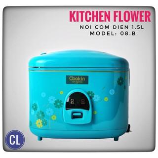 Hàng chính hãng - Nồi cơm điện hàn quốc Kitchen Flower KCJ-08B
