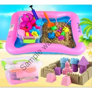 [GIÁ PHÁ ĐẢO] Bộ đồ chơi tạo hình cát động lực cho bé
