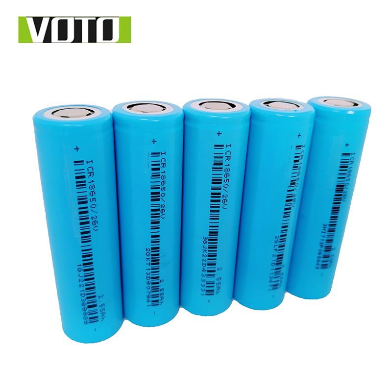 Cell Pin 18650 VOTO 2550mAh 5C (Xả 10A) - Hàng Mới 100%