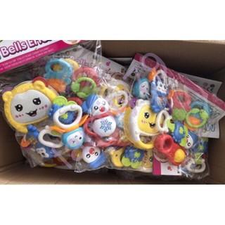 [HÀNG CHUẨN] Đồ chơi xúc xắc- túi 7 món Toys House cực HOT cho bé