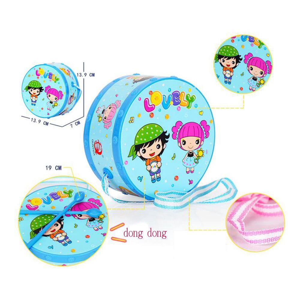 6pcs/set Funny Fashion Gift Kids Infant Roll Drum