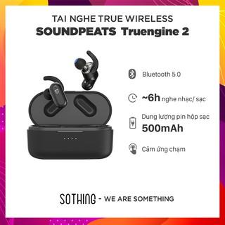 Tai Nghe True Wireless SOUNDPEATS TRUENGINE 2 Dual Dynamic Drivers & Crossover - Hỗ Trợ Sạc Không Dây