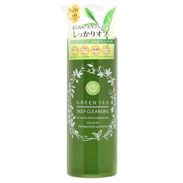 Gel tẩy trang trà xanh Santa Marche Green Tea Deep Cleansing cho da mụn và da nhạy cảm 400ml (Bill m