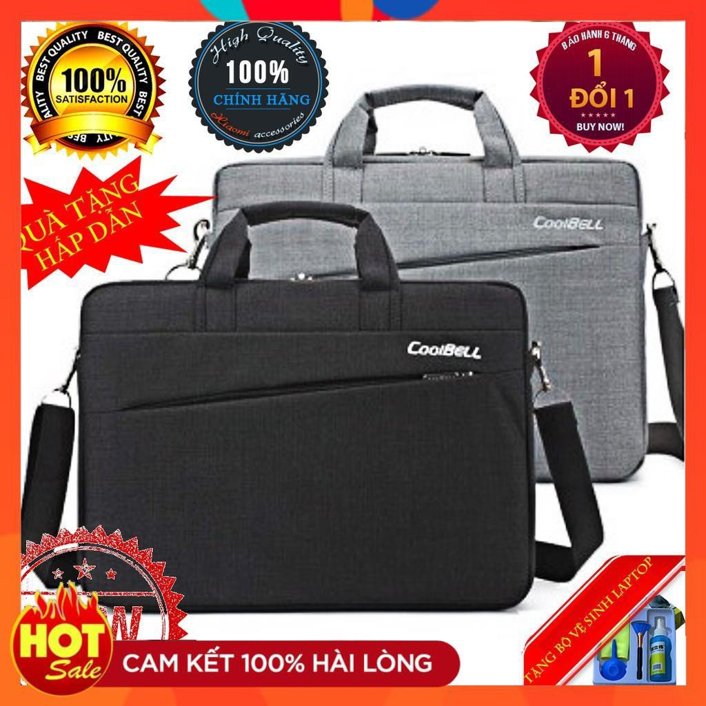 Cặp đựng laptop Coolbell TỐT 12 13 14 15.6 inch-Túi balo cao cấp đựng laptop máy tính xách tay đẹp nam