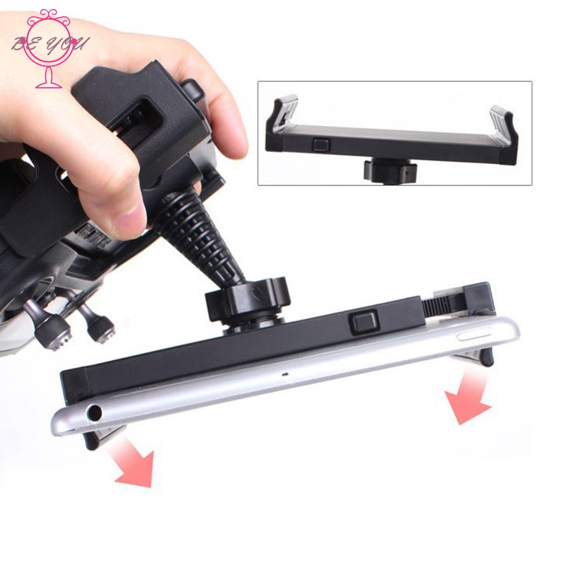 ♪BY 4-12Inch Remote Controller Bracket Tablet Phone Holder Mount Stretch Bracket Clip for DJI Pro