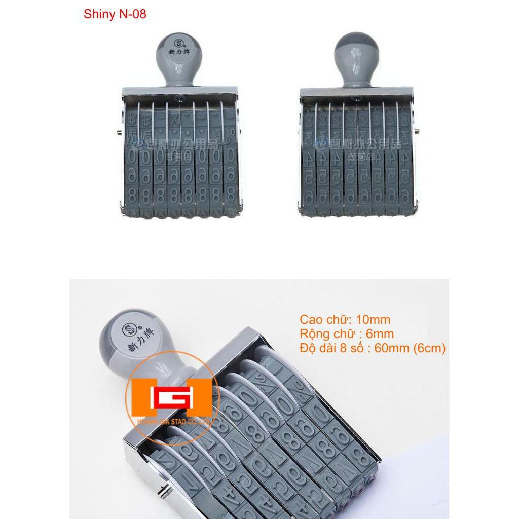 [Combo] Dấu xoay tay chấm mực cao 10 mm Shiny N-08 và khay mực khô - 3059691 , 838748791 , 322_838748791 , 510000 , Combo-Dau-xoay-tay-cham-muc-cao-10-mm-Shiny-N-08-va-khay-muc-kho-322_838748791 , shopee.vn , [Combo] Dấu xoay tay chấm mực cao 10 mm Shiny N-08 và khay mực khô