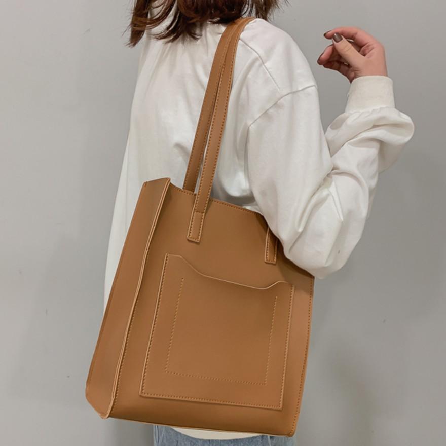Túi xách nữ vải da PU cỡ lớn xinh xắn