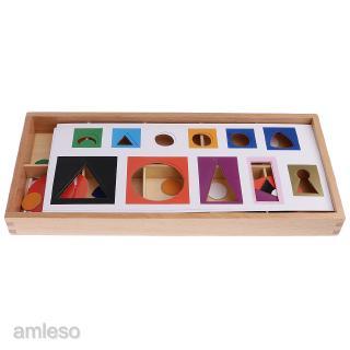 Montessori Wooden Toy Grammar Symbols w/ Box Kids Early Childhood Education