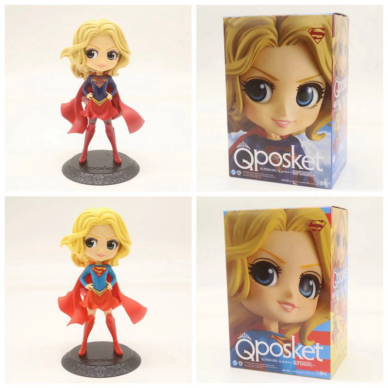 Marvel Captain Qposket Eyes Cute Dolls Action Figure Collectible For Kids Toys Gifts Brinquedos 15cm